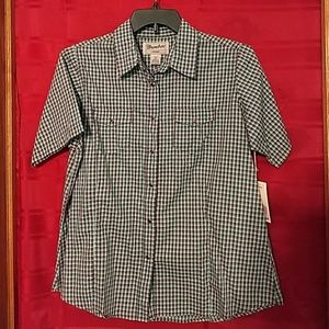 NWT Wrangler button up XL